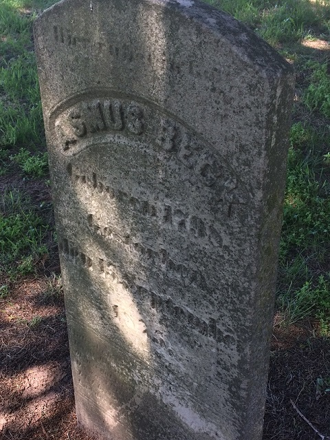Plumer Settlement Cemetery List Of Burials Obituaries And Gravestone Photos
